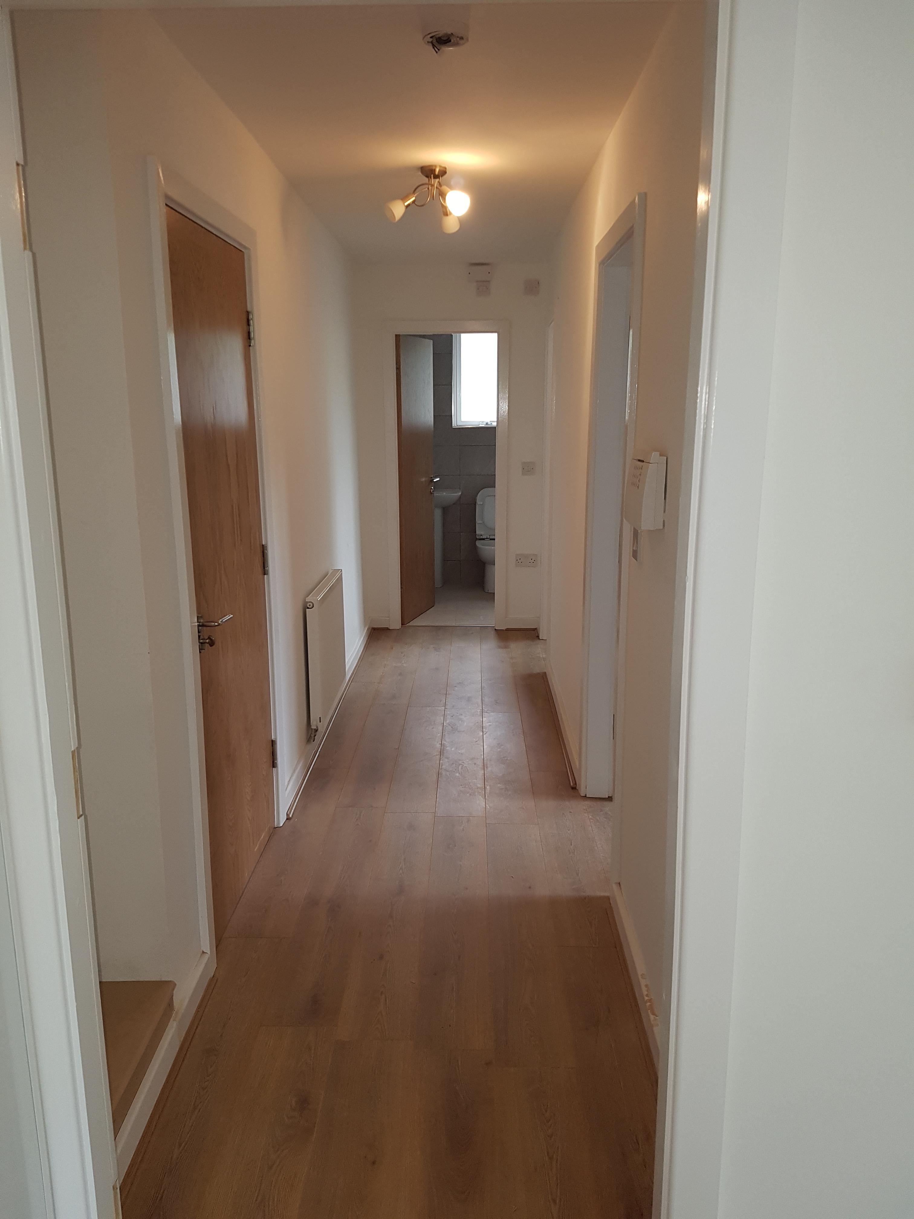 russell house flat 6 hallway