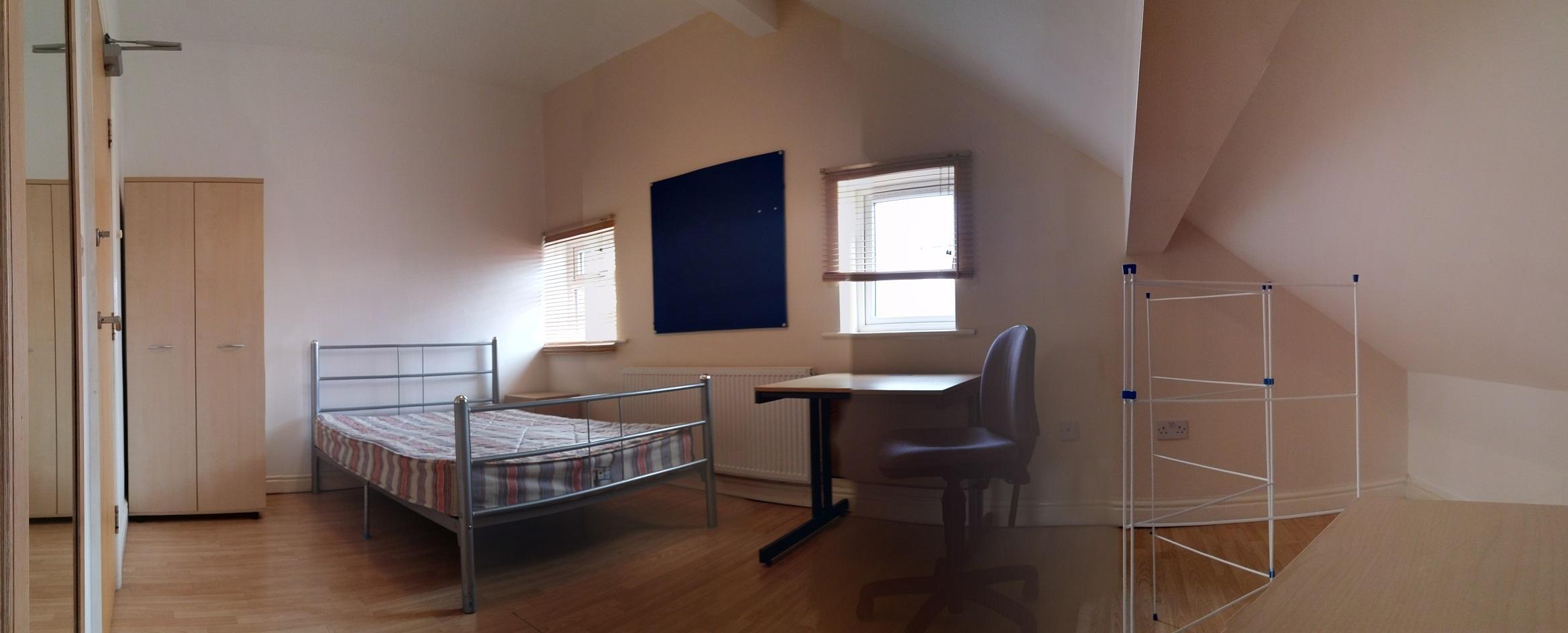 7a abberton loft bedroom